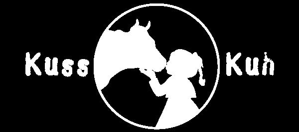 Logo Kusskuh weiß
